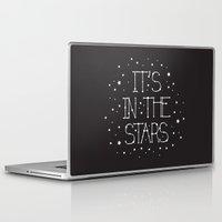 constellations Laptop & iPad Skins featuring Constellations  by Estaschia Cossadianos