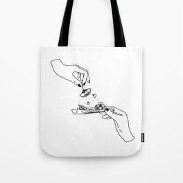 How to roll up your sadness? Tote Bag