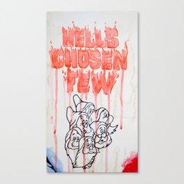 Hell's Chosen Few Canvas Print