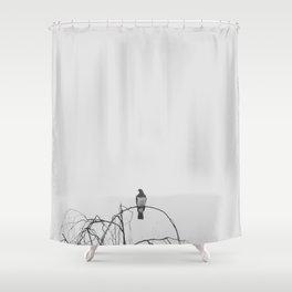 Kereru Chillin Shower Curtain