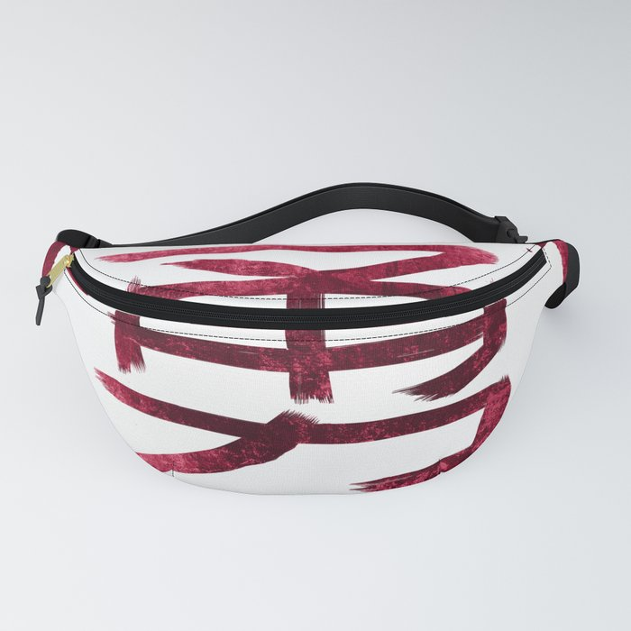 Eight virtues of Bushidō: 勇/Heroic Courage Fanny Pack