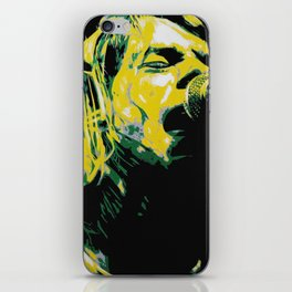 COBAIN UNPLUGGED iPhone Skin