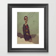 You Must Keep Going Framed Art Print
