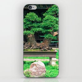 Bonsai iPhone Skin