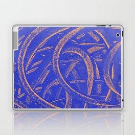 Junction - Blue and Orange Laptop & iPad Skin