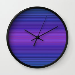 Night in the Garden Wall Clock