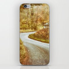 Where Will You Go? iPhone Skin
