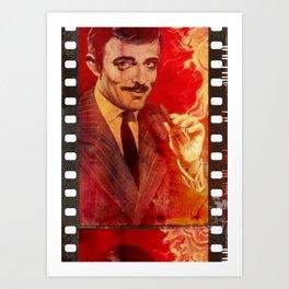 Gomez On Film Art Print