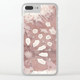 Cellular Geometry No. 2 Clear iPhone Case