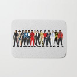 King MJ Pop Music Fashion LV Bath Mat