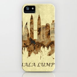 Kuala Lumpur Malaysia Cityscape iPhone Case