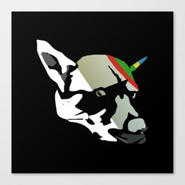 Fossil Dog Canvas Print