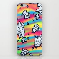 breaking iPhone & iPod Skins featuring Breaking by Taylor deVille