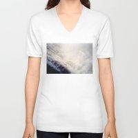 power V-neck T-shirts featuring Power by Richard PJ Lambert