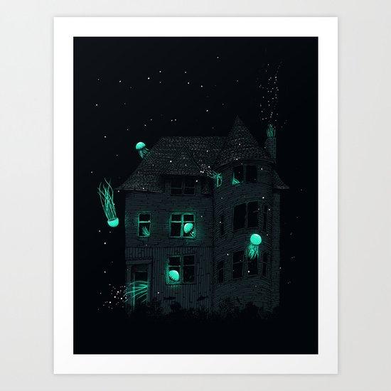 A New Home Art Print