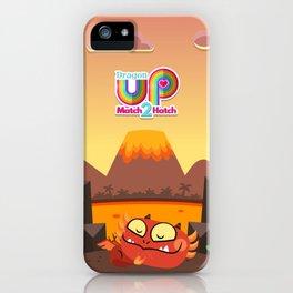 Dragon Up Match 2 Hatch Fire Dragon iPhone Case