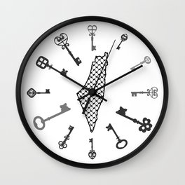 Palestine - The Return Wall Clock