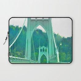 St. Johns Bridge Portland Oregon Laptop Sleeve