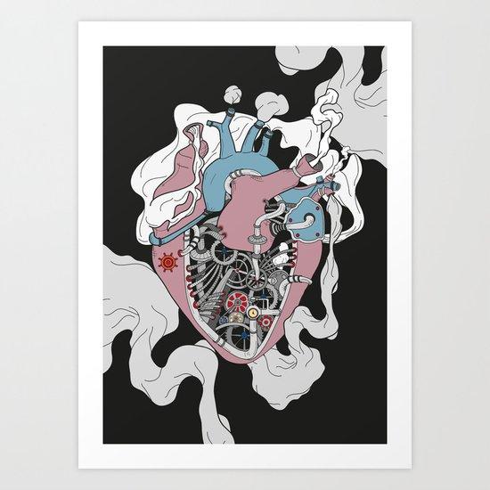 Mechanic Heart Art Print