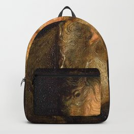 Anthony van Dyck - Study of the Head of an Old Man Backpack