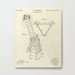 Fireman's Tower-1884 Metal Print