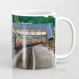 Steam Locomotive Wales Coffee Mug