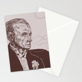 Fred Astaire in Moon Luminance Stationery Cards