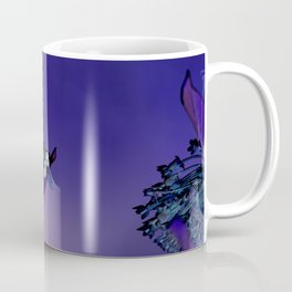 Blooming at Night (violet) Coffee Mug