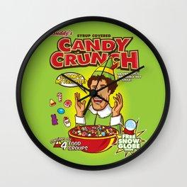 Buddy's Candy Crunch Wall Clock