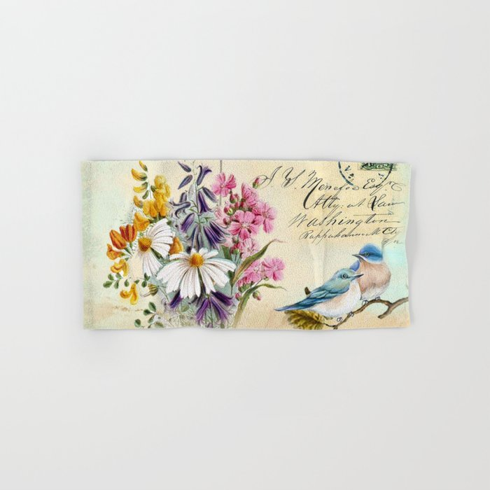Sweet birds #1 Hand & Bath Towel