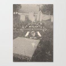 Mortuus Sum Canvas Print