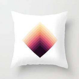 Prism - Modernist Minimal Geometric Print Throw Pillow