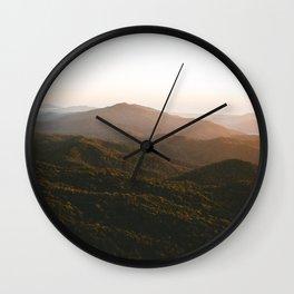 Kahpahlim Rock Sunrise III Wall Clock