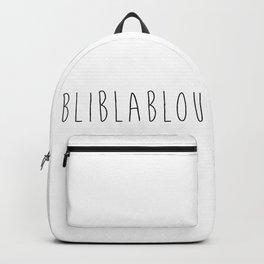 bliblablou Backpack