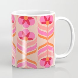 flowers geometry - pattern no1 Coffee Mug