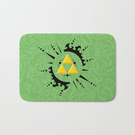 Triforce Zelda Bath Mat