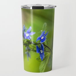Blue Speedwell Flowers Travel Mug