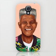 Hipstory - Nelson Mandela Galaxy S4 Slim Case