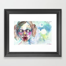 adult fish Framed Art Print