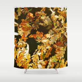 Leaved Shower Curtain