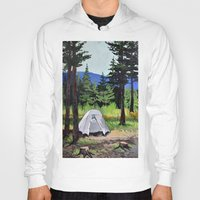 camp Hoodies featuring Camp by Kira Yustak
