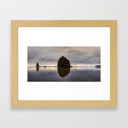 Coastal Calm Framed Art Print