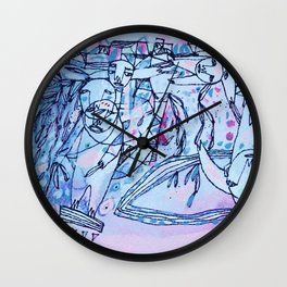 Gratitude in Everything Wall Clock