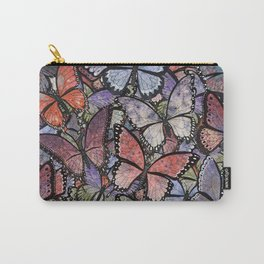butterflies galore grunge version Carry-All Pouch