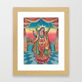 Shri Shri Guranga Avatara - Vintage Krishna Art Framed Art Print