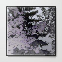 Purple Trees Landscape | Nadia Bonello | Canada Metal Print