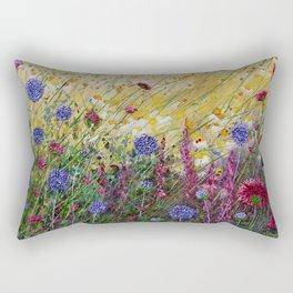 Monty's Garden Rectangular Pillow