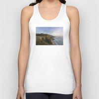 big sur Tank Tops featuring Bixby Bridge at Big Sur by photographyk