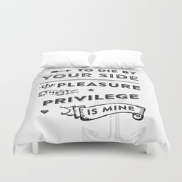 There Is A Light Duvet Cover