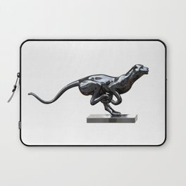 Black panther hematite Laptop Sleeve